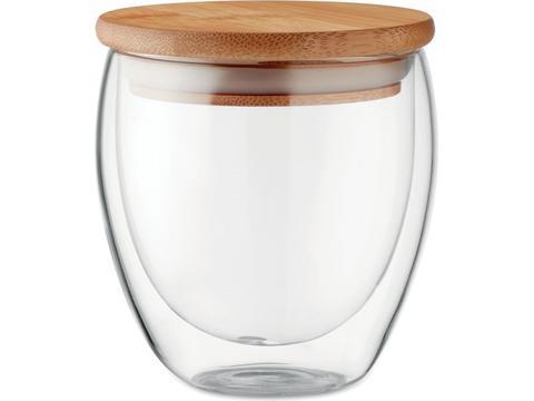 Dubbelwandig drinkglas - 250 ml
