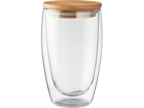 Dubbelwandig drinkglas - 450 ml