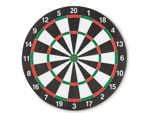 Double sided dart board