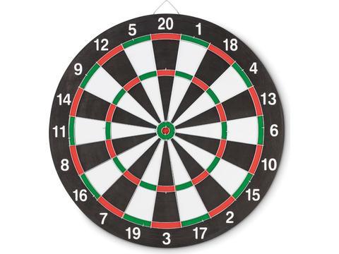 Double sided dart board