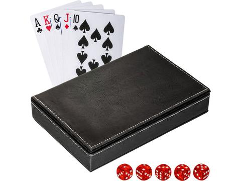 Playing cards set with box