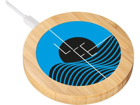 Wireless charger bamboo 15 Watt