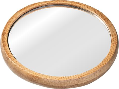 Duurzame spiegel uit bamboe