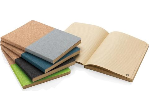 Eco cork notebook