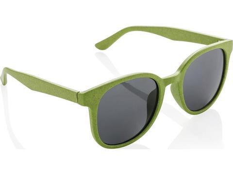 Eco zonnebril uit tarwestro