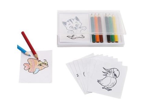 Colouring set Crazy Animals