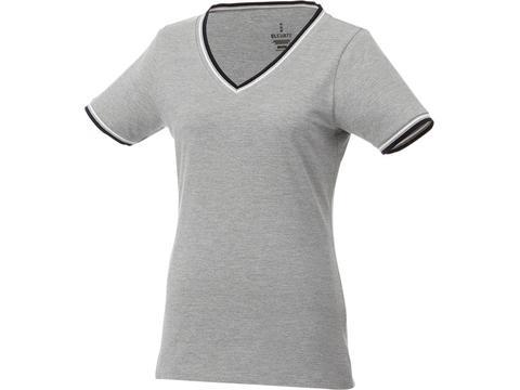 Elbert piqué dames t-shirt