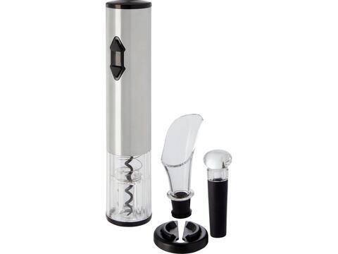 Elektrische wijnopener met wijn accessoires