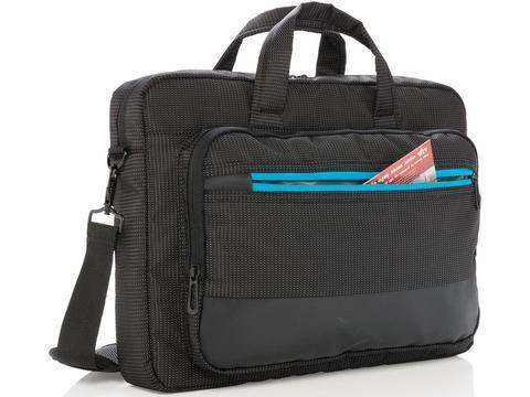 Elite 15,6 inch USB laptop tas