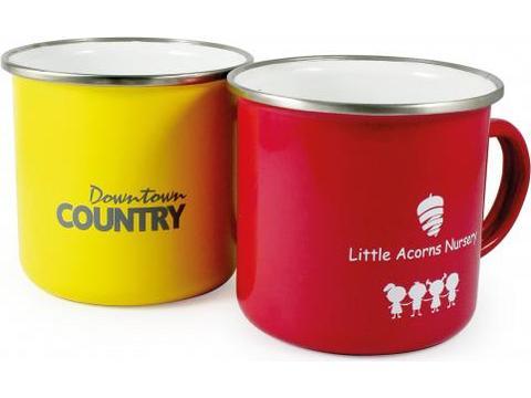 ColourCoat Mugs émaillés