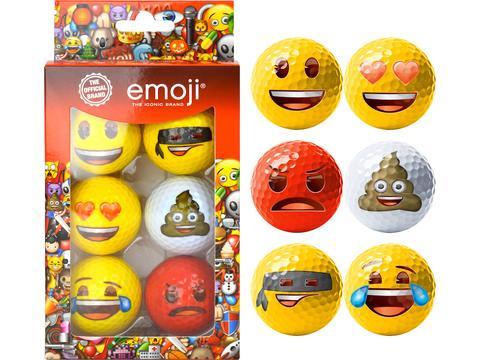 Emoji 6 Ball Pack