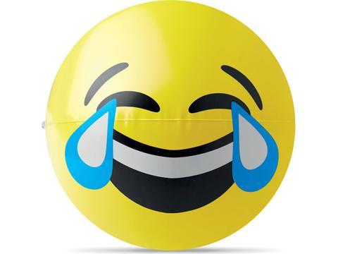 Ballon de plage gonflable Emoticon