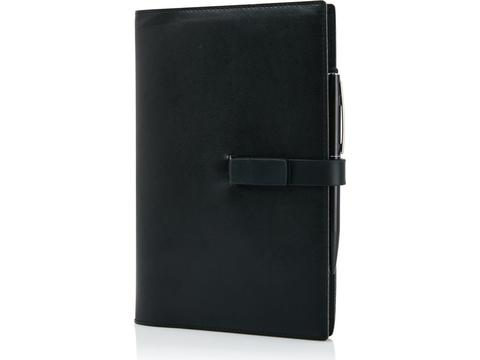 Executive 8GB USB notebook set with touch pen