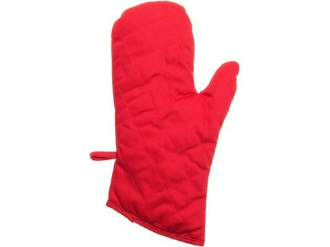 Extra thick oven mitt
