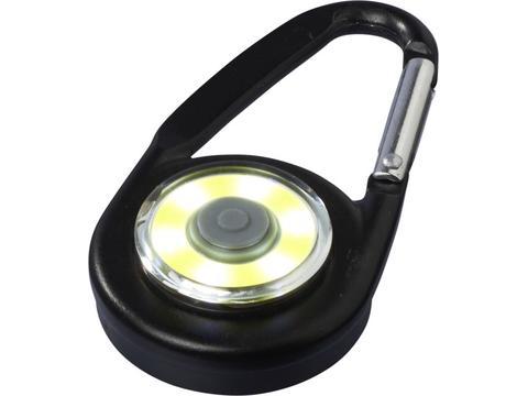 Eye karabijnhaak met COB licht