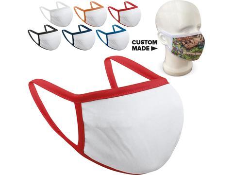 Re-usable fashion face mask full colour