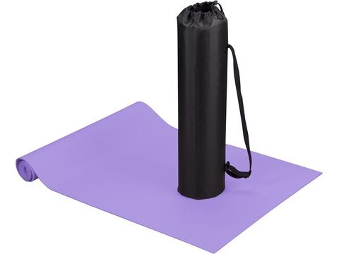 Fitness en yoga mat