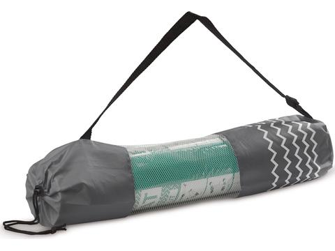 Fitness-yoga mat with carrier