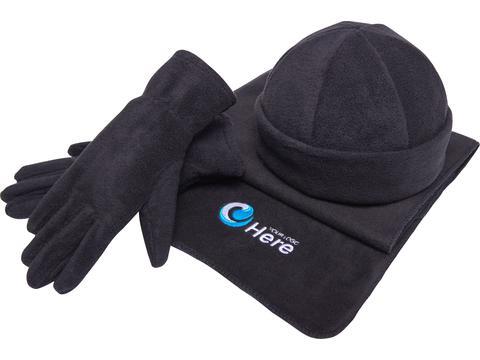 Wintermuts, sjaal & handschoenen