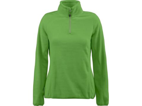 Fleece halfzip sweater Frontflip