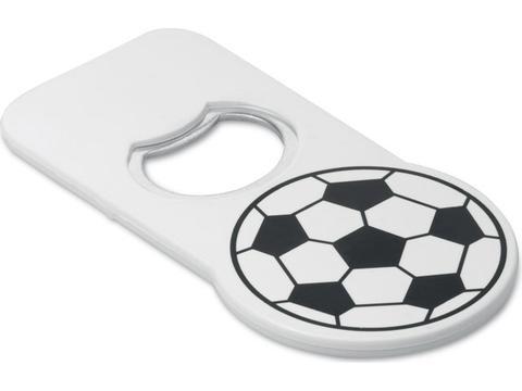 Flesopener met voetbal