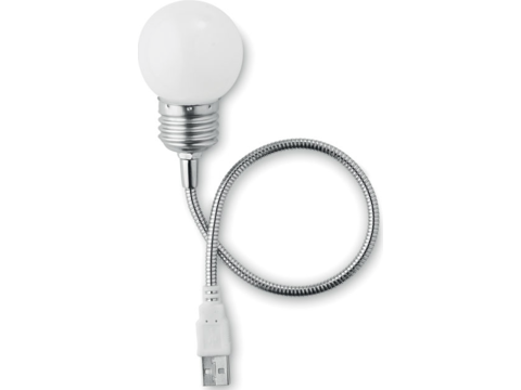 USB light bulb shape