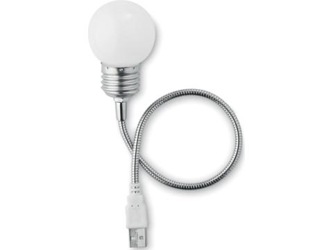 Lampe USB en forme d'ampoule