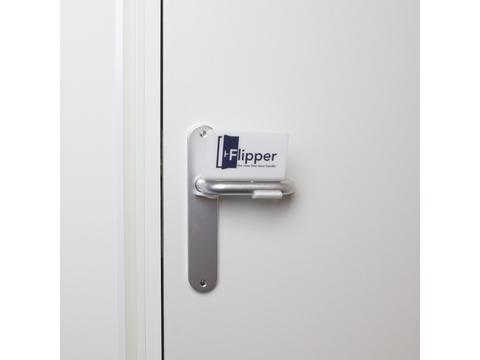 Flipper - virus free door handle
