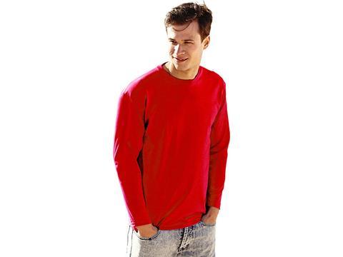 Value Weight T-shirt met lange mouwen
