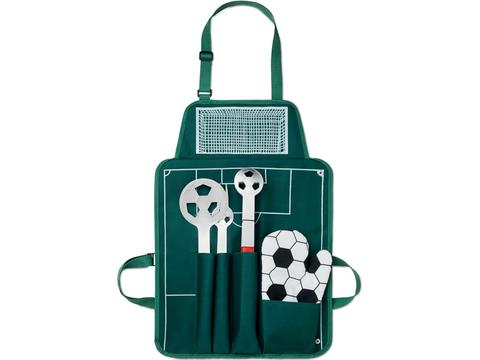 Football Barbecue apron with tools