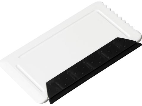 Racleur à glace Freeze taille carte de crédit avec gomme