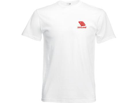 Fruit Target T-shirt Wit