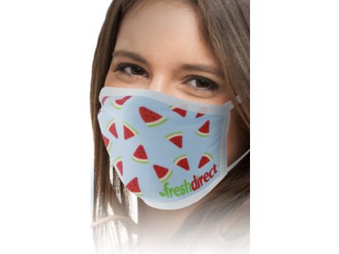 Full colour mondmasker - 3 laags