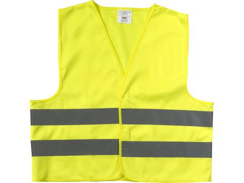Promotional safety jacket for children