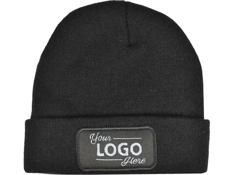 Knitted Hat with label