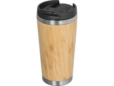 Geïsoleerde beker uit duurzaam bamboe - 350 ml