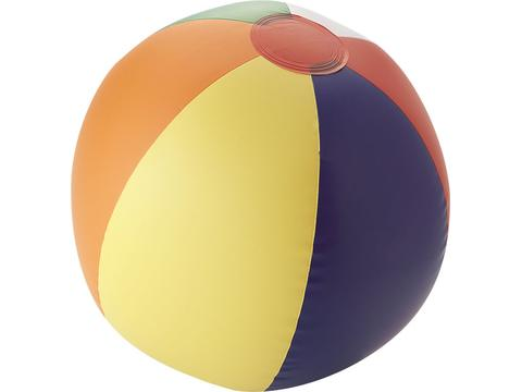 Rainbow solid beach ball