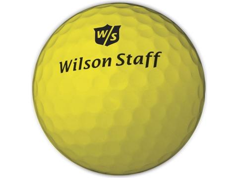 Wilson DX2 Soft Gele Golfbal