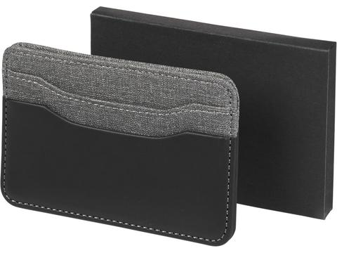 Heathered card holder