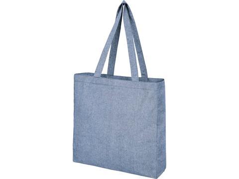 Pheebs 210 g/m2 recycled cotton gusset tote bag