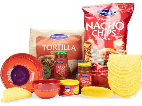 Geschenkpakket Dip & Spicy - Spaans aardewerk
