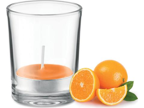 Fragranced small candle
