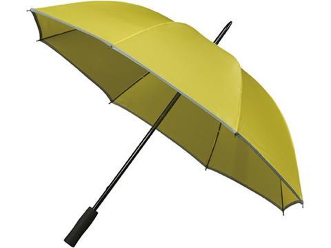 Falcone golf umbrella with reflective piping