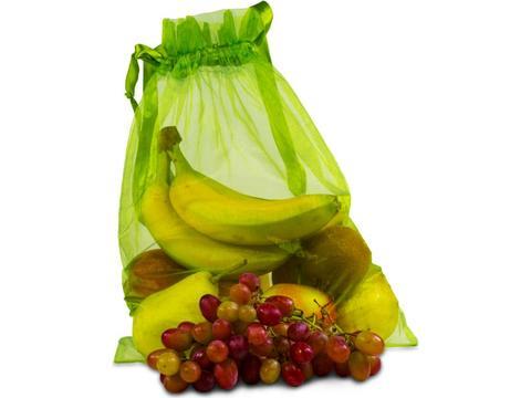 Herbruikbaar groente of fruit zakje
