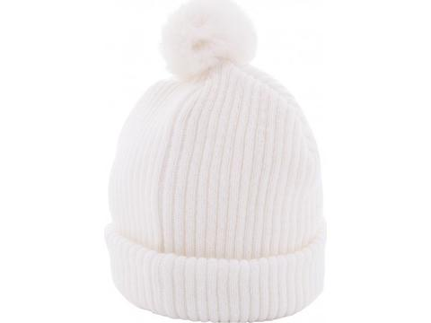 Fur Knitted Hat