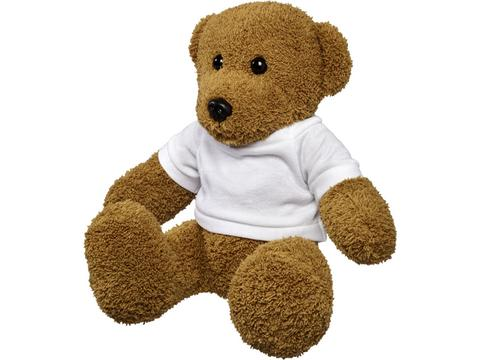 Large plush rag bear with shirt