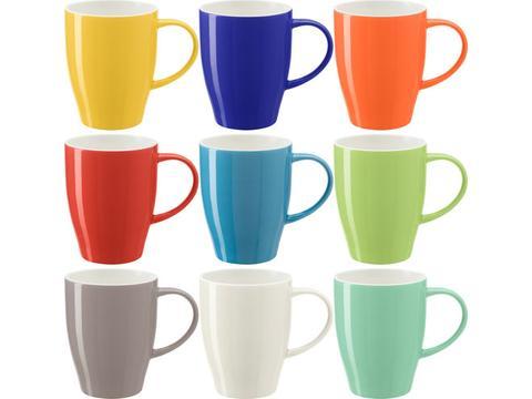 Mug bicolore en porcelaine - 370 ml