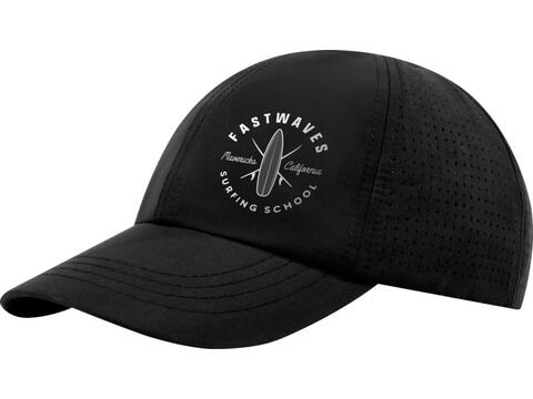 Mica 6 panel GRS recycled cool fit cap