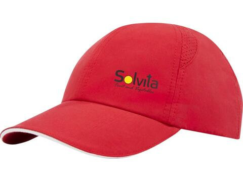 Morion 6 panel GRS recycled cool fit sandwich cap