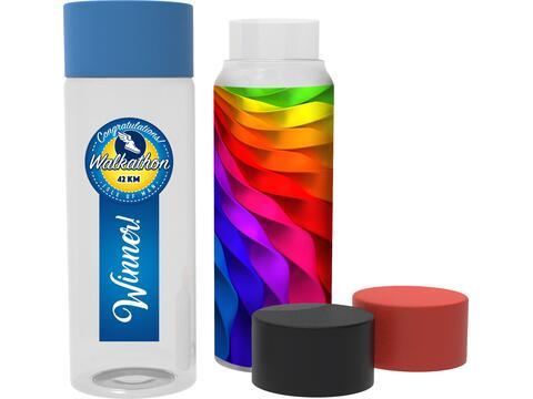H2O drinkfles - full colour rondom bedrukt - 500 ml